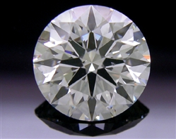 1.08 ct J VS2 A CUT ABOVE® Hearts and Arrows Super Ideal Round Cut Loose Diamond