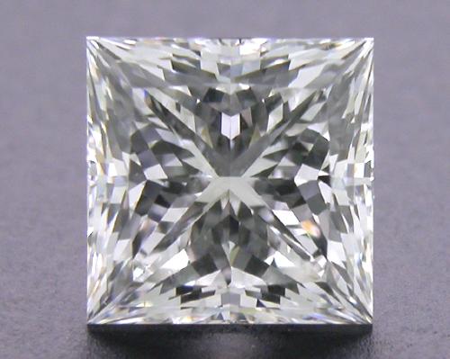 1.085 ct H SI1 A CUT ABOVE® Princess Super Ideal Cut Diamond