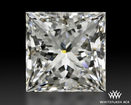 1.087 ct H VS1 A CUT ABOVE® Princess Super Ideal Cut Diamond