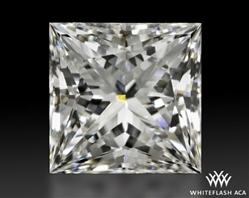1.087 ct H VS1 A CUT ABOVE® Princess Super Ideal Cut Diamond