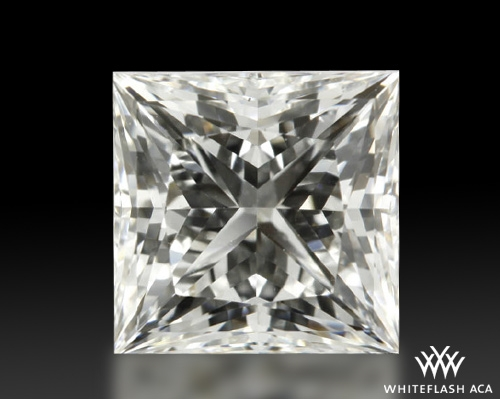 1.07 ct H VS1 A CUT ABOVE® Princess Super Ideal Cut Diamond