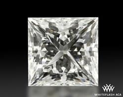 1.07 ct H VS1 A CUT ABOVE® Princess Super Ideal Cut Diamond