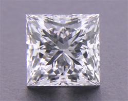 0.563 ct E VS2 A CUT ABOVE® Princess Super Ideal Cut Diamond