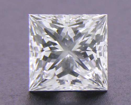 0.547 ct E VVS2 A CUT ABOVE® Princess Super Ideal Cut Diamond