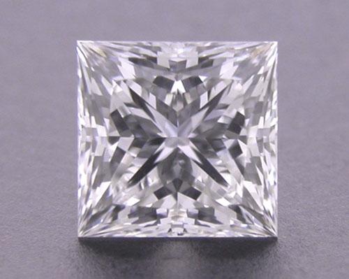 0.53 ct G SI1 A CUT ABOVE® Princess Super Ideal Cut Diamond