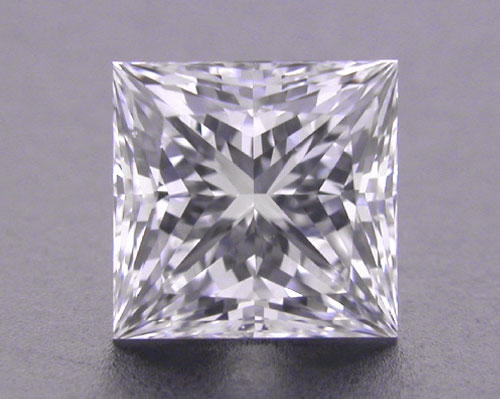 0.748 ct E VS2 A CUT ABOVE® Princess Super Ideal Cut Diamond