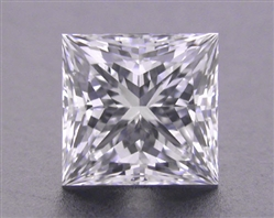 0.748 ct E VS2 A CUT ABOVE® Princess Super Ideal Cut Diamond