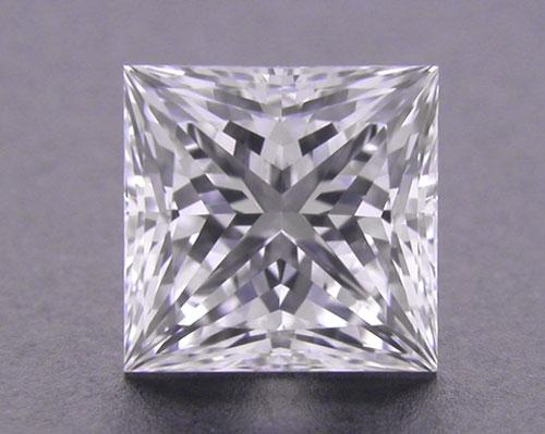 0.723 ct F VS1 A CUT ABOVE® Princess Super Ideal Cut Diamond