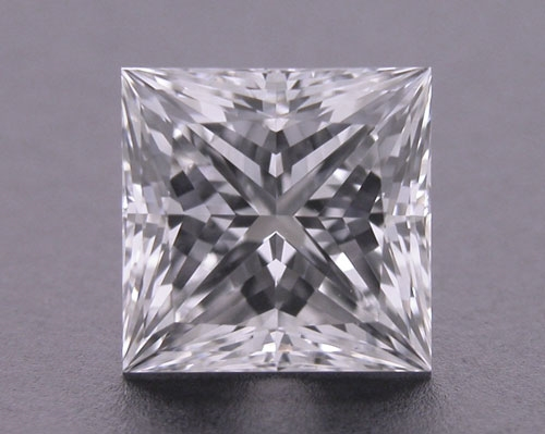 0.741 ct F VS1 A CUT ABOVE® Princess Super Ideal Cut Diamond