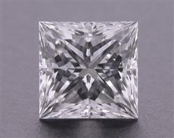 0.741 ct F VS1 A CUT ABOVE® Princess Super Ideal Cut Diamond