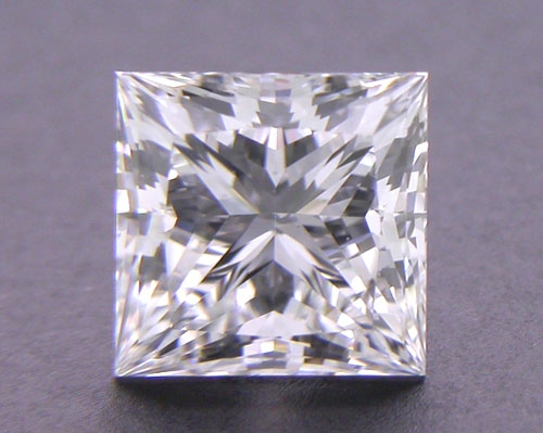 0.761 ct G VS1 A CUT ABOVE® Princess Super Ideal Cut Diamond