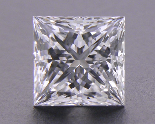 0.74 ct G VS2 A CUT ABOVE® Princess Super Ideal Cut Diamond