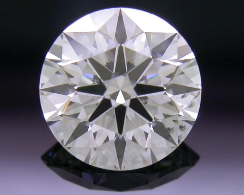 0.721 ct F SI1 A CUT ABOVE® Hearts and Arrows Super Ideal Round Cut Loose Diamond
