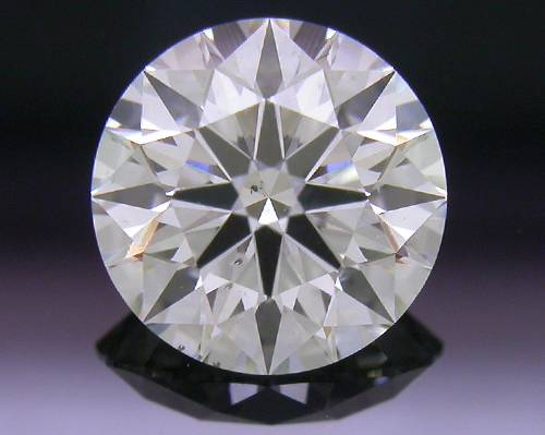 0.723 ct H SI2 A CUT ABOVE® Hearts and Arrows Super Ideal Round Cut Loose Diamond