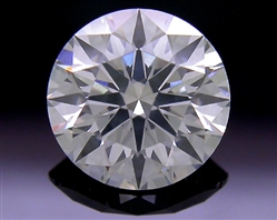 0.735 ct F SI2 A CUT ABOVE® Hearts and Arrows Super Ideal Round Cut Loose Diamond