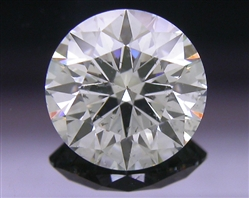 0.741 ct J SI2 A CUT ABOVE® Hearts and Arrows Super Ideal Round Cut Loose Diamond