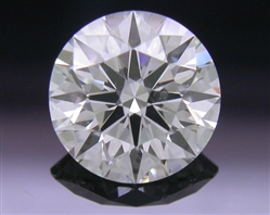 0.752 ct H SI1 A CUT ABOVE® Hearts and Arrows Super Ideal Round Cut Loose Diamond