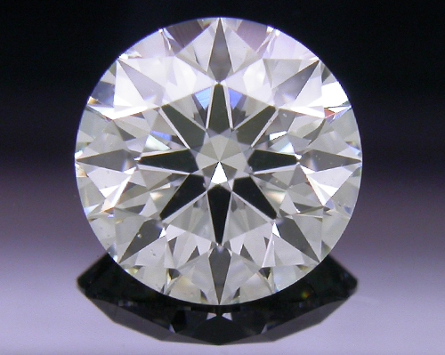 0.761 ct H SI2 A CUT ABOVE® Hearts and Arrows Super Ideal Round Cut Loose Diamond