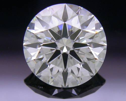 0.742 ct I VS2 A CUT ABOVE® Hearts and Arrows Super Ideal Round Cut Loose Diamond