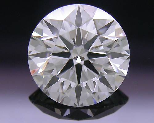 0.81 ct H SI1 A CUT ABOVE® Hearts and Arrows Super Ideal Round Cut Loose Diamond