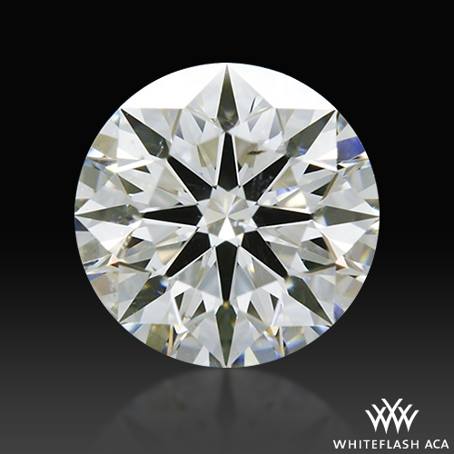 0.732 ct G SI2 A CUT ABOVE® Hearts and Arrows Super Ideal Round Cut Loose Diamond