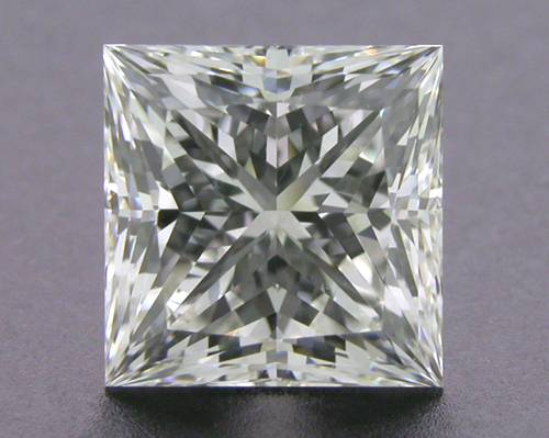 1.043 ct F VS2 A CUT ABOVE® Princess Super Ideal Cut Diamond