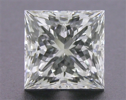 1.273 ct G VVS1 A CUT ABOVE® Princess Super Ideal Cut Diamond