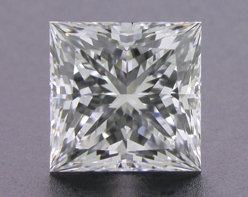 1.034 ct I SI1 A CUT ABOVE® Princess Super Ideal Cut Diamond