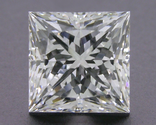 2.103 ct F VVS2 A CUT ABOVE® Princess Super Ideal Cut Diamond