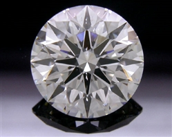 1.558 ct G SI2 A CUT ABOVE® Hearts and Arrows Super Ideal Round Cut Loose Diamond