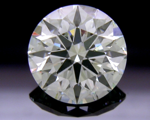 1.236 ct I SI1 A CUT ABOVE® Hearts and Arrows Super Ideal Round Cut Loose Diamond