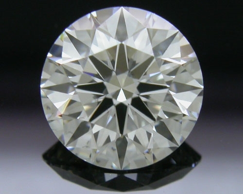 1.011 ct H SI1 A CUT ABOVE® Hearts and Arrows Super Ideal Round Cut Loose Diamond