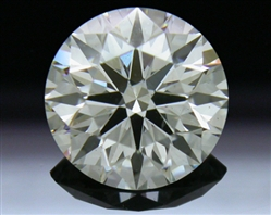 1.168 ct K SI1 A CUT ABOVE® Hearts and Arrows Super Ideal Round Cut Loose Diamond
