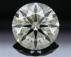 1.054 ct J VS2 A CUT ABOVE® Hearts and Arrows Super Ideal Round Cut Loose Diamond
