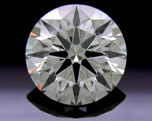 1.095 ct J VS2 A CUT ABOVE® Hearts and Arrows Super Ideal Round Cut Loose Diamond