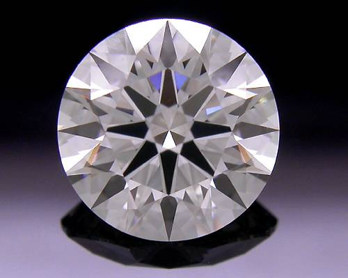 1.002 ct G VS2 A CUT ABOVE® Hearts and Arrows Super Ideal Round Cut Loose Diamond