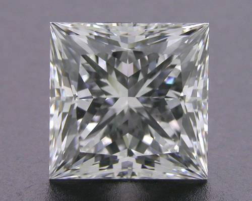 1.09 ct F VS1 A CUT ABOVE® Princess Super Ideal Cut Diamond