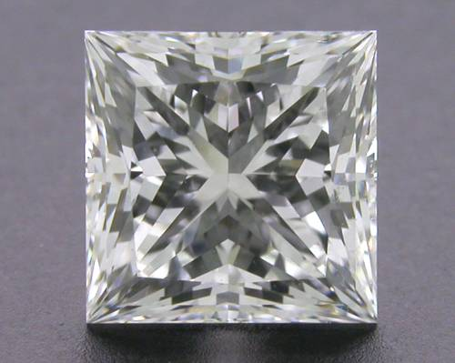 1.286 ct H IF A CUT ABOVE® Princess Super Ideal Cut Diamond
