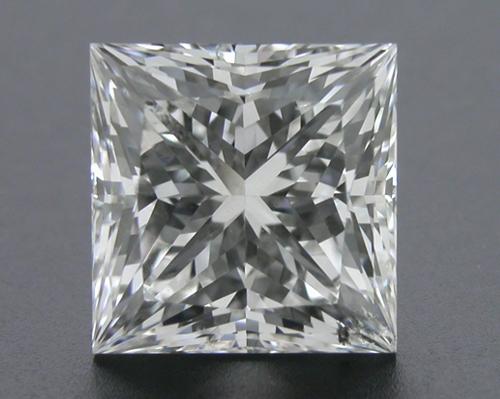 2.071 ct H SI1 A CUT ABOVE® Princess Super Ideal Cut Diamond