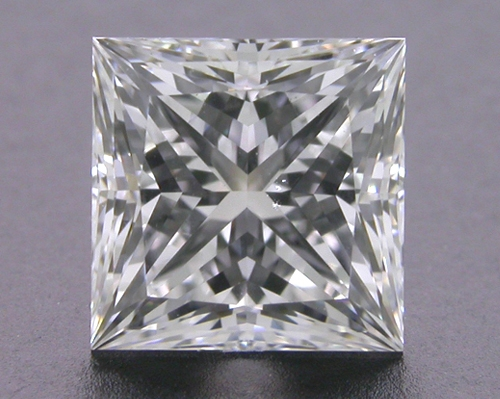 1.077 ct F SI1 A CUT ABOVE® Princess Super Ideal Cut Diamond