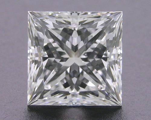 1.077 ct F SI1 A CUT ABOVE® Princess Super Ideal Cut Diamond