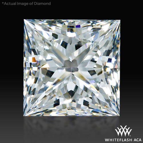 0.994 ct H VS1 A CUT ABOVE® Princess Super Ideal Cut Diamond