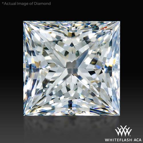 1.006 ct H SI1 A CUT ABOVE® Princess Super Ideal Cut Diamond