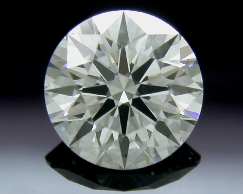 0.781 ct F SI1 A CUT ABOVE® Hearts and Arrows Super Ideal Round Cut Loose Diamond