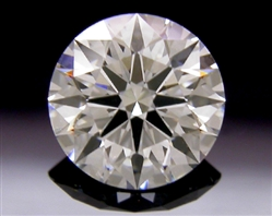 0.751 ct F VS2 A CUT ABOVE® Hearts and Arrows Super Ideal Round Cut Loose Diamond
