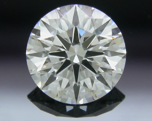 0.537 ct E VS2 A CUT ABOVE® Hearts and Arrows Super Ideal Round Cut Loose Diamond