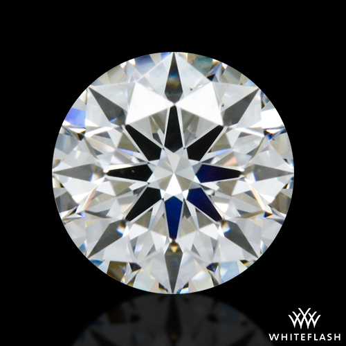 0.523 ct H VS2 A CUT ABOVE® Hearts and Arrows Super Ideal Round Cut Loose Diamond