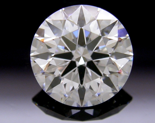 0.742 ct F SI1 A CUT ABOVE® Hearts and Arrows Super Ideal Round Cut Loose Diamond