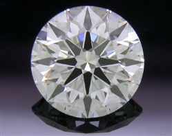0.507 ct F VS2 A CUT ABOVE® Hearts and Arrows Super Ideal Round Cut Loose Diamond