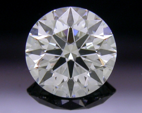 0.537 ct G VS2 A CUT ABOVE® Hearts and Arrows Super Ideal Round Cut Loose Diamond
